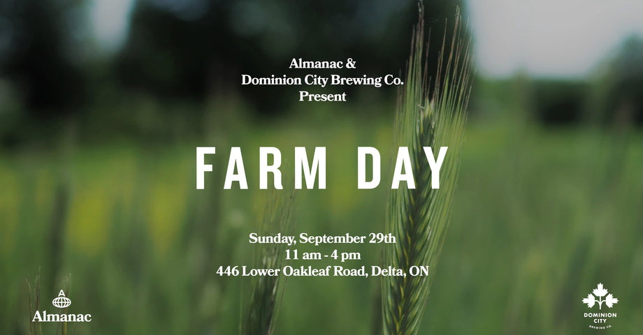 Join us for Farm Day on Sunday September 29