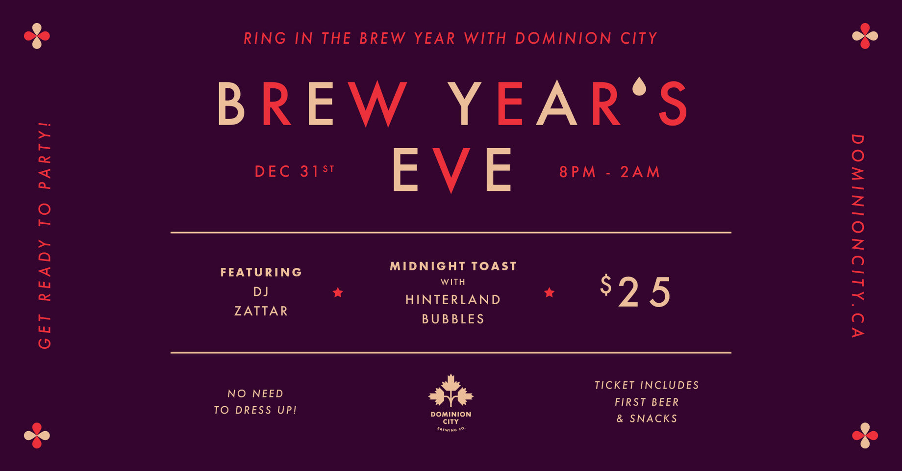 Ring in the brew year with us!