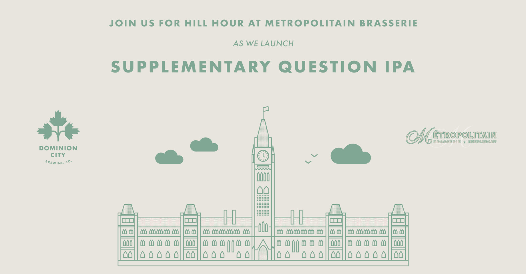 Join us for Hill Hour at Metropolitain Brasserie!