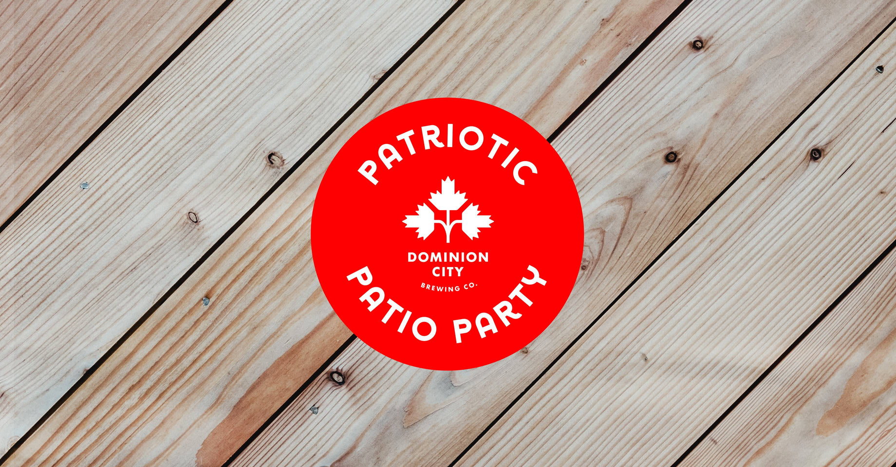 Patriotic Patio Party!
