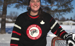 Fightin' Geese Vintage Hockey Sweater