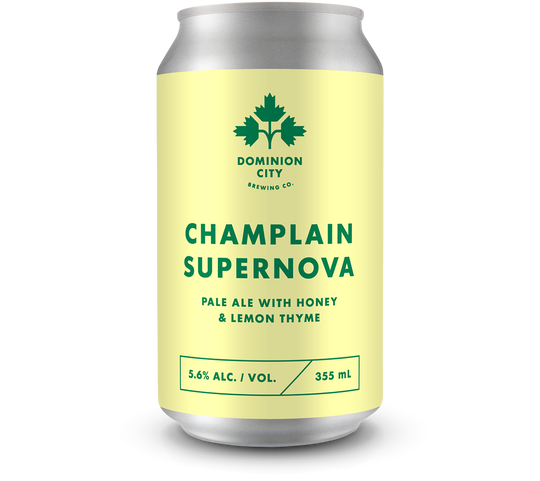 Champlain Supernova Pale Ale with Honey & Lemon Thyme