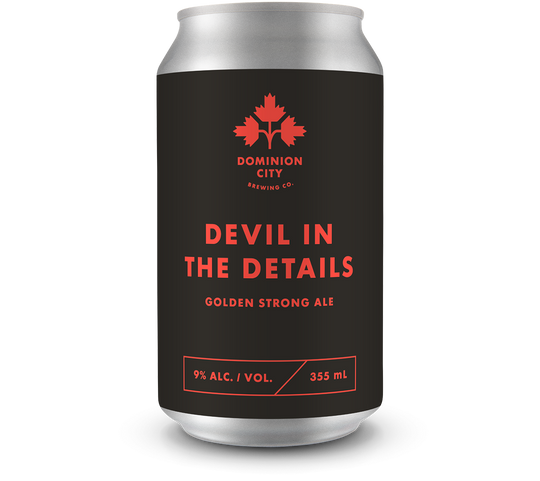 Devil In The Details Golden Strong Ale