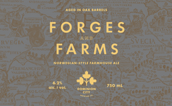 Forges and Farms Norwegian-style Farmhouse Ale