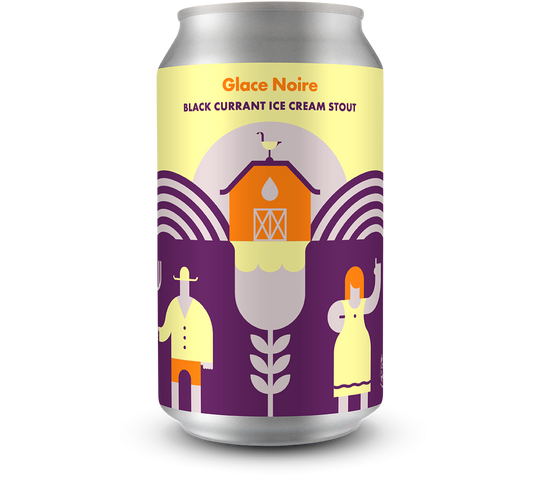 Glace Noire Black Currant Ice Cream Stout
