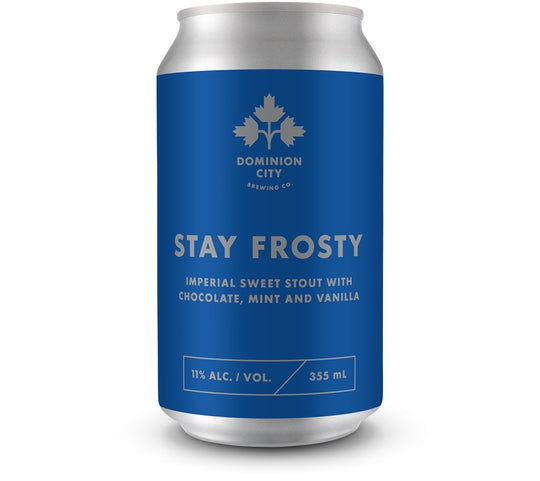 Stay Frosty Imperial Sweet Stout