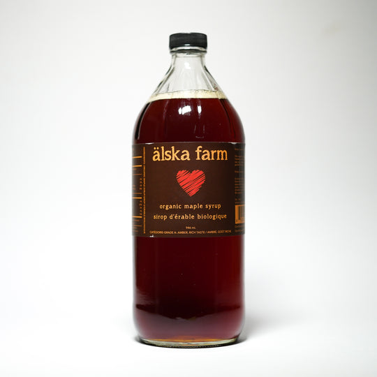 Älska Farm - Amber Organic Maple Syrup