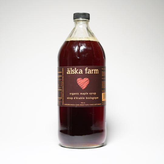 Älska Farm - Dark Organic Maple Syrup