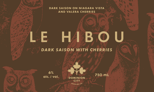 Le Hibou with Cherries