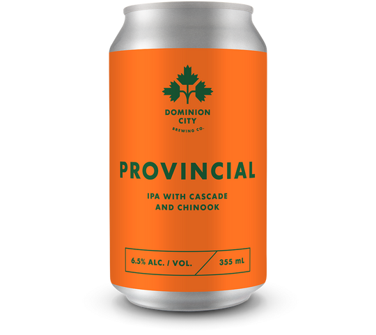 Provincial IPA with Cascade and Chinook