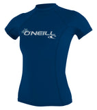 WOMENS BASIC S/S RASH GUARD