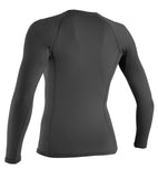 WOMENS BASIC L/S RASH GUARD