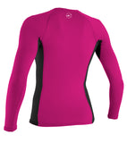 GIRLS PREMIUM SKINS L/S RASH GUARD