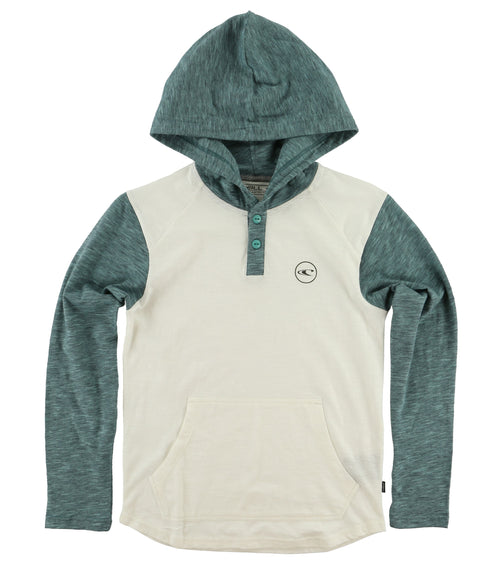 THE BAY HOODED HENLEY