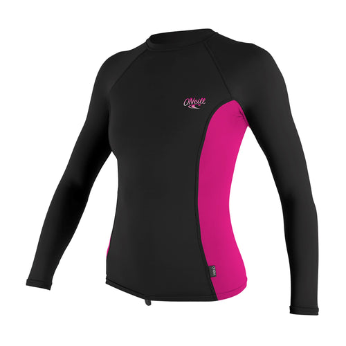 WOMENS PREMIUM SKINS L/S RASH GUARD