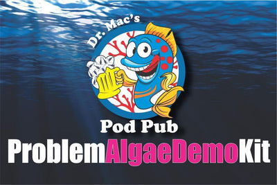 Dr. Mac's Pod Pub Problem Algae Demo Kit