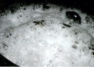 Foam During Curing Process