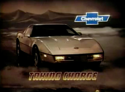 Never Before!!! – Vintage 1984 Corvette Commercial – Wicked Metal