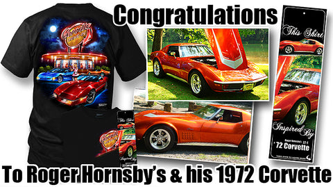 get your car featured Roger Hornsby