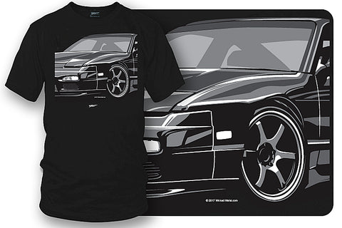 Image of Nissan 240sx t shirt - Wicked Metal - Wicked Metal
