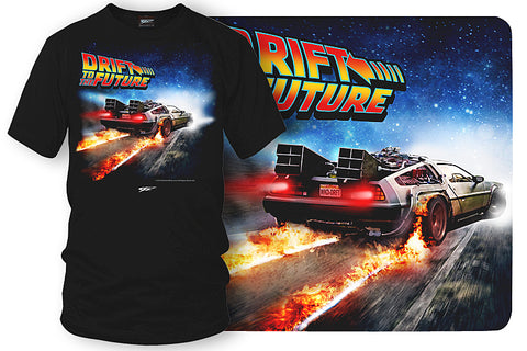 Drift to the Future - Delorean DMC t shirt - $19.99 - Wicked Metal