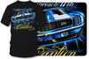Image of Camaro gear - Approach with Caution - 1969 Camaro Z28 camaro tee shirt - Wicked Metal