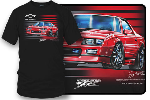 Image of Camaro 3rd Generation - 80s Camaro - Chevy Camaro t shirt - Wicked Metal