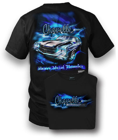Image of Chevelle Shirt - Muscle Car T-Shirt - 1970 Chevelle - Wicked Metal