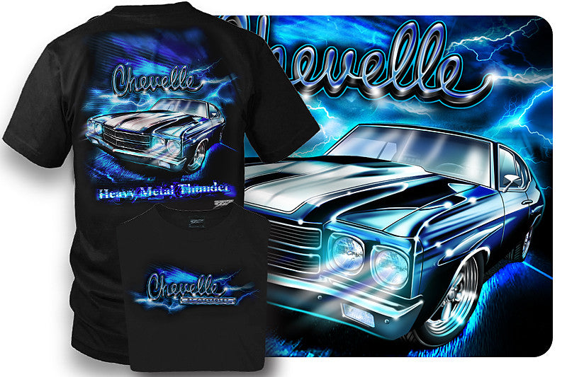 00f732564 Chevelle Shirt - Muscle Car T-Shirt - 1970 Chevelle - $19.99 - Wicked Metal  ...