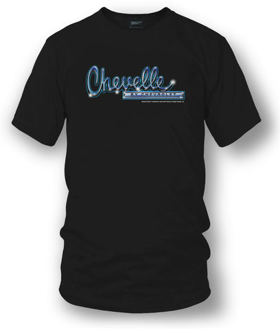 Chevrolet Chevelle logo t-shirt - Black - $19.99 - Wicked Metal
