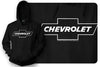 Image of Chevy Bowtie t shirt logo  - Black Hoodie - $35.99 - Wicked Metal