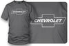 Image of Chevy Bowtie SS t shirt logo - Grey shirt- $19.99 - Wicked Metal