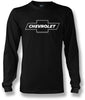 Image of Chevy Bowtie LS t shirt logo  - Black- $25.95 - Wicked Metal