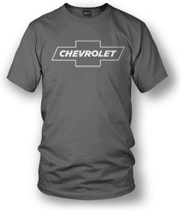 Chevy Bowtie SS t shirt logo - Grey shirt - Wicked Metal