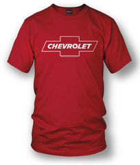 Chevy Bowtie SS t shirt logo - Red- $19.99