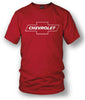 Image of Chevy Bowtie SS t shirt logo - Red- $19.99 - Wicked Metal