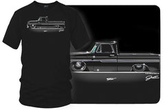 1966 Chevy C-10 - Truck T-Shirt - Chevy c-10 t-Shirt - $19.99 - Wicked Metal