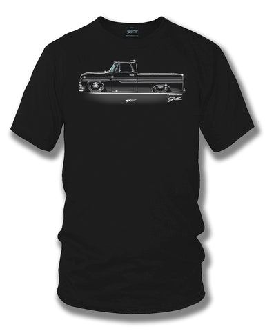 Image of 1966 Chevy C-10 - Truck T-Shirt - Chevy c-10 t-Shirt - Wicked Metal