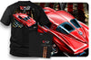 Image of Corvette Shirt – Patriotic – Corvette C3 – Split Window - $19.99 - Wicked Metal