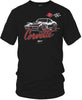 Image of Corvette c3 Stylized - Corvette C3 Stylized logo shirt - $19.99