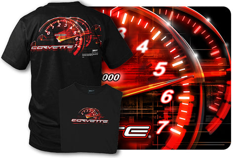 Corvette c5 shirt - Redline - Tach Speedo - $19.99 - Wicked Metal