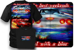 Corvette Shirt - Corvette C6 - Best Weekends - $19.99 - Wicked Metal