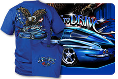 Corvette shirt - Live to Drive - 1965 Corvette - $19.99 - Wicked Metal