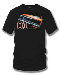 Dodge Charger t-shirt, Dukes of Hazzard Style t-shirt Black - Wicked Metal - $19.99
