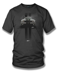 Dodge Challenger Stripes- Muscle Car T-Shirt - Challenger t-Shirt - $19.99