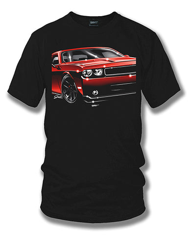 Image of Dodge Challenger - Muscle Car T-Shirt - Challenger t-Shirt - Wicked Metal