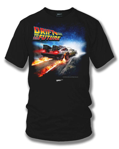 Image of Drift to the Future - Delorean DMC t shirt - Wicked Metal