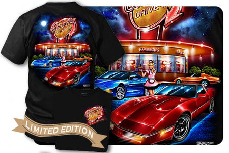 Corvette Shirt - Corvette C5 - C4 - C3 - Drive-In - SOLD OUT - Wicked Metal