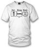 Image of Wicked Metal Eat Sleep Drive Stick, White shirt - $19.99 - Wicked Metal