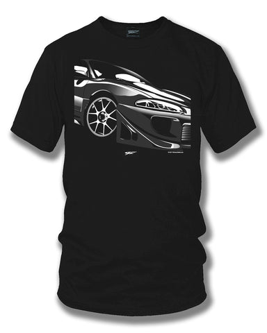 Mitsubishi Eclipse t shirt - Wicked Metal - Wicked Metal